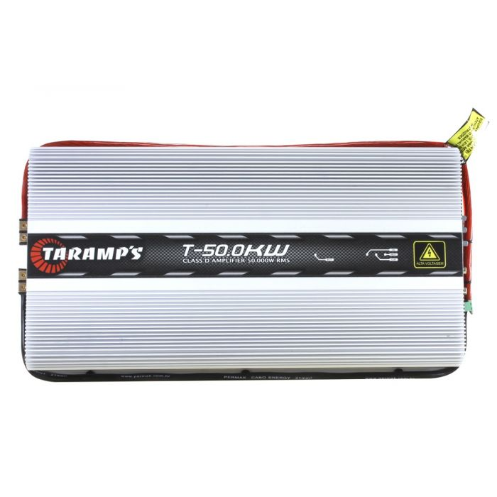 Taramps T 50 0 KW High Voltage - 50000 Watts RMS - 1 Ohm Car Amplifier