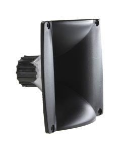 """Fiamon LC-07 1"""" Square Black Horn"""