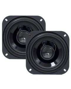 "Hinor 4"" City Black - 80 Watts RMS Car Speakers"