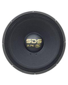 "Eros 18"" E-18 SDS 2.7K - 1350 Watts RMS - 4 Ohm Subwoofer"