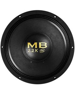 "Eros 12"" E-12 MB 2.2K - 1100 Watts RMS - 4 Ohm Woofer"
