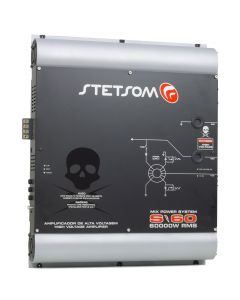 Stetsom S60 High Voltage - 64800 Watts RMS Car Amplifier