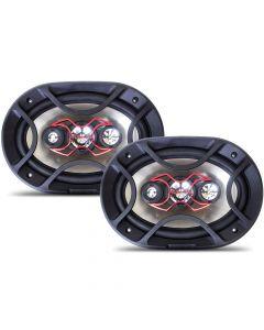 """Bravox 6""""x9"""" 4 Way B4X69X - 140 Watts RMS Car Speakers"""