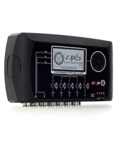 JFA DX5 Evo - 5 Way Dynamic Crossover and Equalizer Múltiplas Band Sound Processor