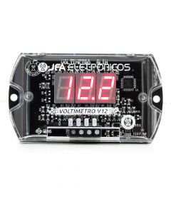 JFA Slim V12 Remote - Red LED Voltmeter