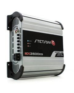 Stetsom EX3500EQ - 1 Channel 4000 Watts RMS  1 Ohm Car Amplifier