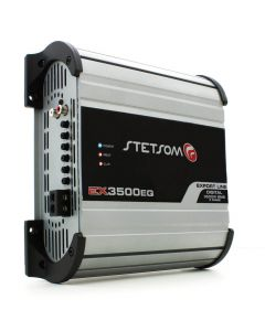 Stetsom EX3500EQ - 1 Channel 4000 Watts RMS  2 Ohms Car Amplifier