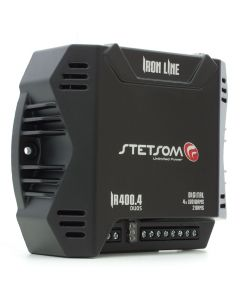 Stetsom Iron Line IR 400.4 Duos - 4 Channel 400 Watts RMS Car Amplifier