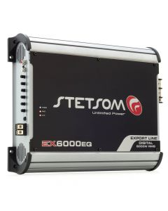 Stetsom EX6000EQ - 1 Channel 6700 Watts RMS  2 Ohms Car Amplifier