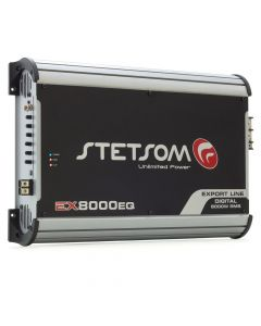 Stetsom EX8000EQ 1 Channel 1 Ohm Car Amplifier