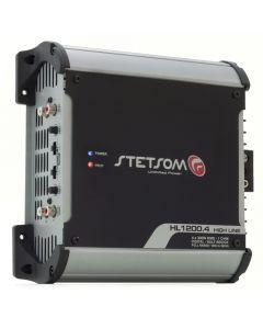 Stetsom HL1200.4 Channel 1280 Watts RMS  2 Ohms Car Amplifier