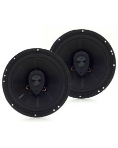 "Hinor 6"" City Black - 140 Watts RMS Car Speakers"