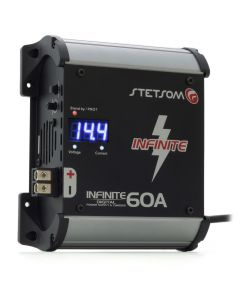 Stetsom Infinite 60A 14.4 V - Bivolt Voltmeter and Ampmeter Power Supply