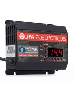 JFA New F10A Sci Slim - 14.4 V - Bivolt Voltmeter and Batmeter Power Supply