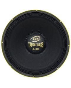 """Subwoofer 18"""" Eros E-18 Target Bass 3.3K - 1650 Watts RMS - 4 Ohms"""