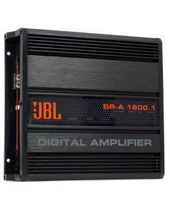 JBL BR-A 1600.1 Channel 1600 Watts RMS  2 Ohms Car Amplifier
