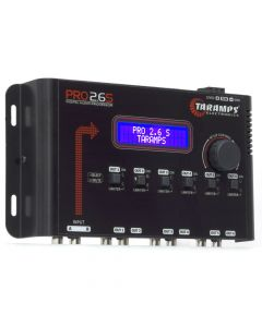 Taramps PRO 2.6S - 6 Way - Dynamic Crossover and Equalizer 3 Band Sound Processor