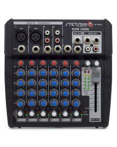 Mesa de Som Automotivo Stetsom STM1206 - 6 Canais - EQ 4 Bandas