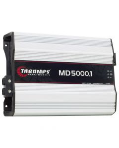 Taramps MD 5000 - 1 Channel 5000 Watts RMS  1 Ohm Car Amplifier
