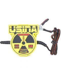 Spark Usina Smart Charger 3A, 12V Bivolt Batmeter Power Supply