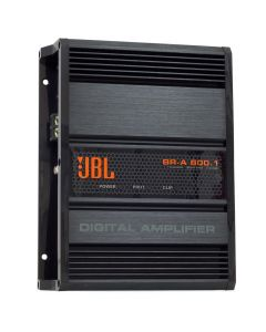 JBL BR-A 800.1 1 Channel - 800 Watts RMS - 2 Ohm Car Amplifier