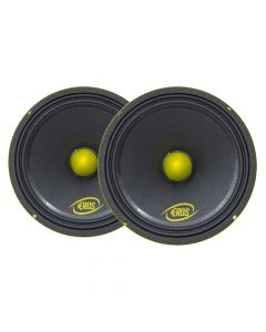 "Pair of  Eros 8"" 8MB 400 - 200 Watts RMS - 8 Ohm Woofers"