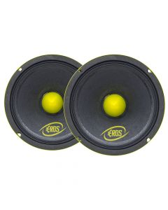 "Pair of Eros 6"" 6MB 400 - 200 Watts RMS - 8 Ohm Woofers"