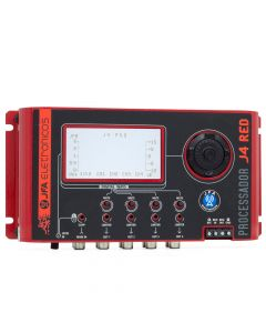 JFA J4 Pro RED Edition 4 Ways Dinamic Crossover And Multiple Ways Equalizer Sound Processor