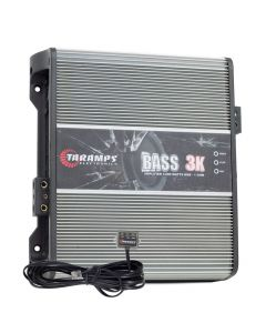 Taramps Bass 3K - 1 Channel - 3000 Watts RMS - 1 Ohm Car Amplifier