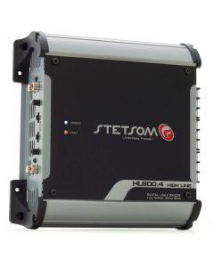 Stetsom HL800.4 - 4Channel- 1040 Watts RMS - 1 Ohm Car Amplifier