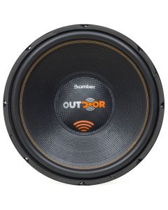"Bomber 15"" Outdoor - 500 Watts RMS - 4 Ohm Subwoofer"