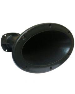 "Fiamon LC-1400 1"" Black Horn"