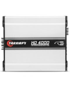 Taramps HD 4000 - 1 Channel 4798 Watts RMS com Extensor LED Clip  1 Ohm Car Amplifier