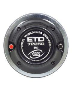 Eros Titanium ETD-72250- 125 Watts RMS Driver