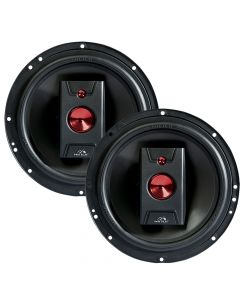 "Hinor 6"" Carbono - 160 Watts RMS Car Speakers"