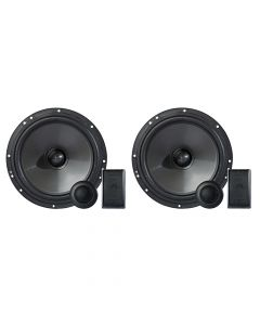 "Hinor 6""  Carbono - 160 Watts RMS 2 Way Car Speakers Kit"