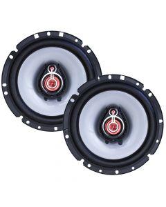 "Bomber 6"" 3 Way Upgrade - 120 Watts RMS Car Speakers"