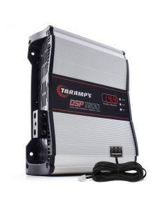 Taramps DSP 1600 1 Channel 1976 Watts RMS + LED Clip Remoto  4 Ohms Car Amplifier