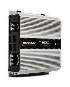 Taramps T 800.1 Compact - 1 Channel 800 Watts RMS  4 Ohms Car Amplifier