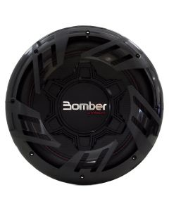 "Bomber 12"" Carbon - 500 Watts RMS - Dual 4 Ohm Subwoofer"