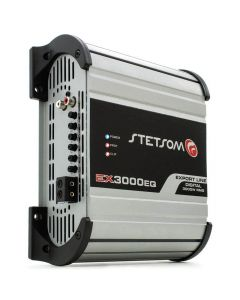 Stetsom EX3000EQ - 1 Channel 3600 Watts RMS  1 Ohm Car Amplifier