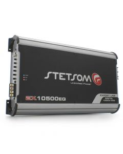 Stetsom EX10500EQ - 1 Channel 11100 Watts RMS  2 Ohms Car Amplifier