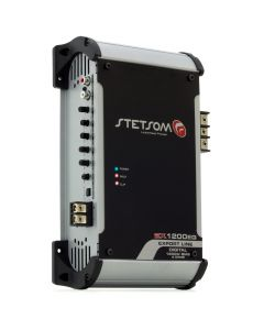 Stetsom EX1200EQ - 1 Channel 1350 Watts RMS  4 Ohms Car Amplifier