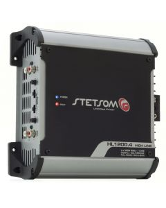 Stetsom HL1200.4 Channel 1280 Watts RMS  2 Ohms Car Amplifier