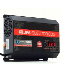 JFA New F100A Sci - 14.4 V - Bivolt Voltmeter and Batmeter Power Supply