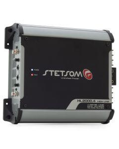 Stetsom HL2000.4 Channel 2320 Watts RMS  2 Ohms Car Amplifier