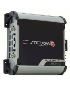 Stetsom HL1200.4 Channel 1400 Watts RMS  1 Ohm Car Amplifier