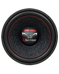 """Subwoofer 15"""" Bomber Bicho Papão - 2000 Watts RMS - 2+2 Ohms"""