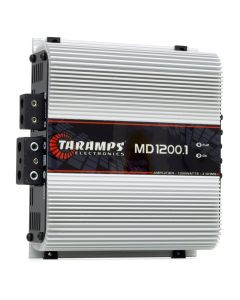 Taramps MD 1200.1 Channel 1200 Watts RMS  2 Ohms Car Amplifier