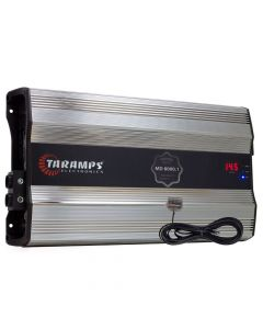 Taramps MD 8000 Premier com LED Clip - 1 Channel 8000 Watts RMS  2 Ohms Car Amplifier